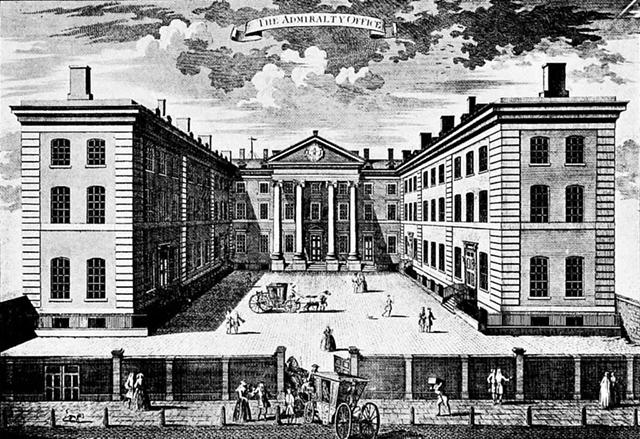 Lịch sử của thiết kế văn phòng Admiralty-Office-London
