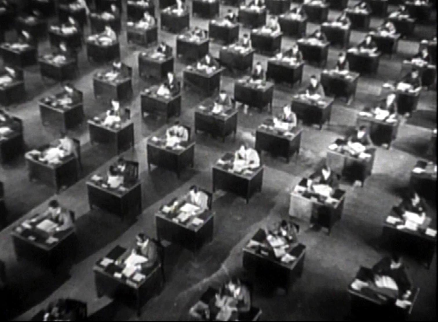 Lịch sử của thiết kế văn phòng Taylorist-Open-Plan