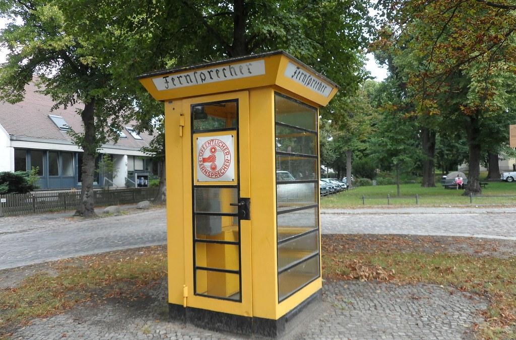 Lịch sử của Phone booth Fernsprechkiosk_01