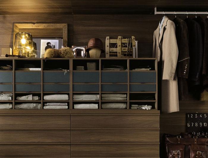 Tủ quần áo gỗ công nghiệp Poliform